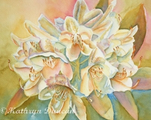 """""""Just Glow With It"""" -Rhododendrons"""