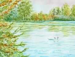 """""""Autumn Swans"""""""