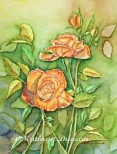 """""""Autumn Roses'"""