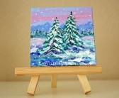 Pine Trees - Winter Snow