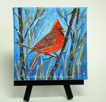 Red Cardinal - Winter