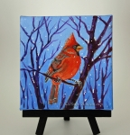 Red Cardinal Snow