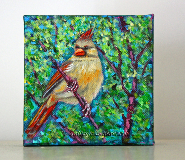 Yellow Cardinal Spring
